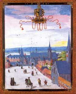Peinture de l'abbaye Decroy