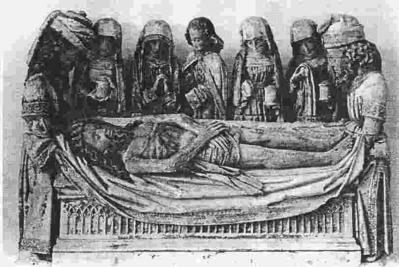 Mise au tombeau du Christ