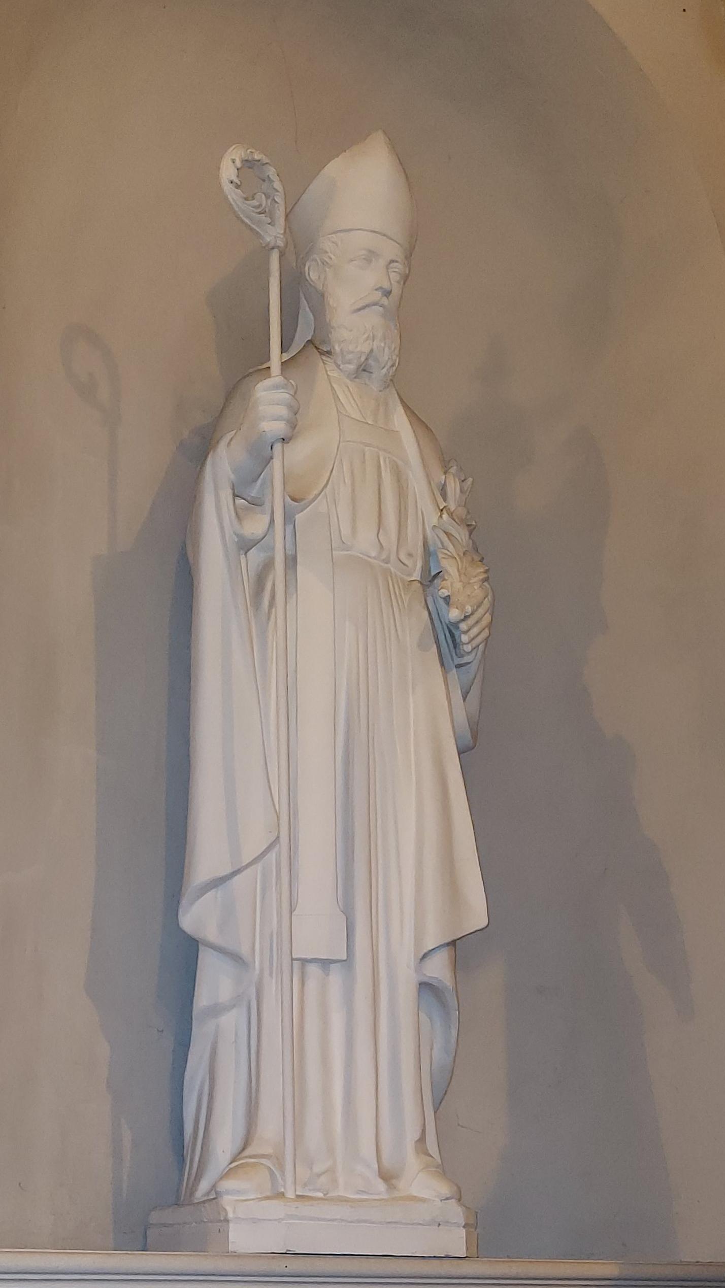 Hautrage-État - statue