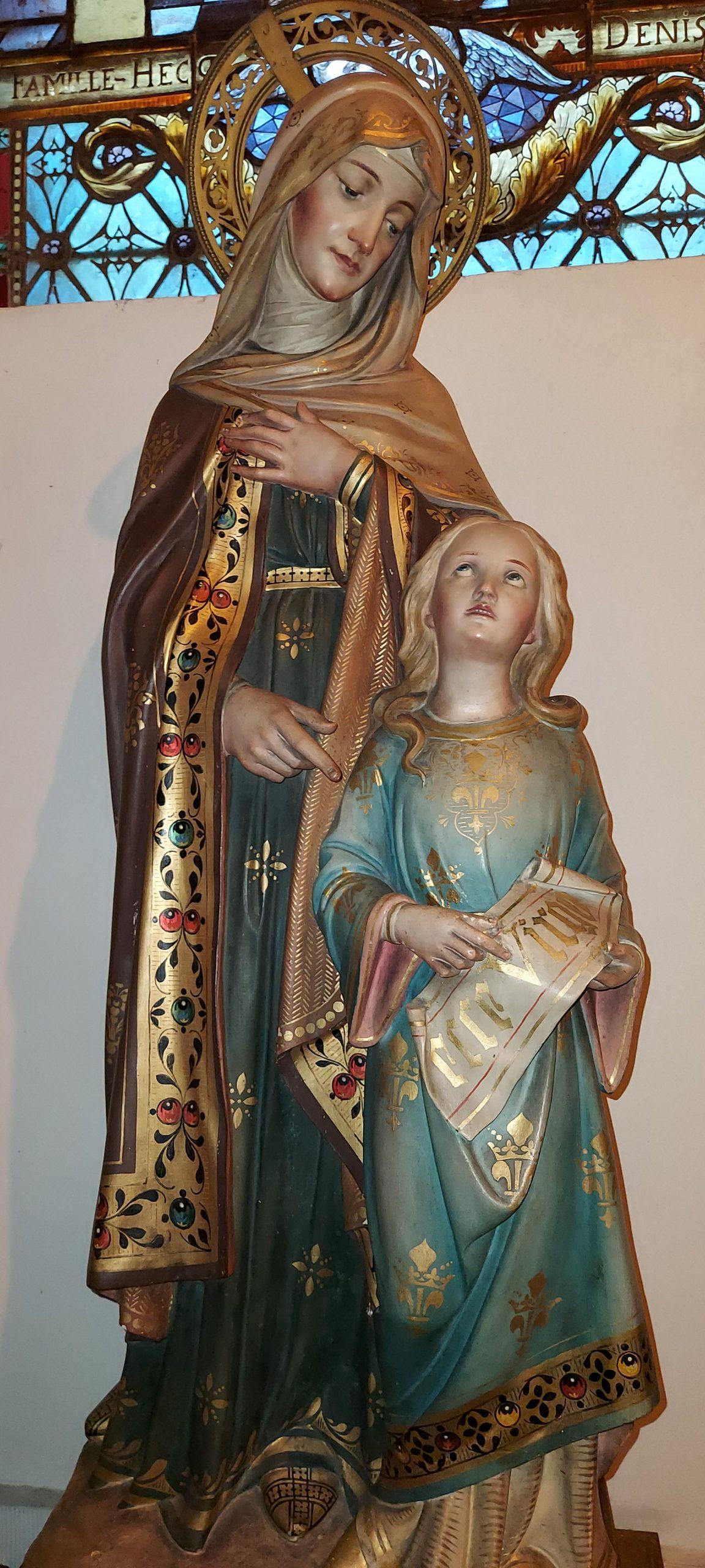 Hautrage-Centre - statue de la Vierge