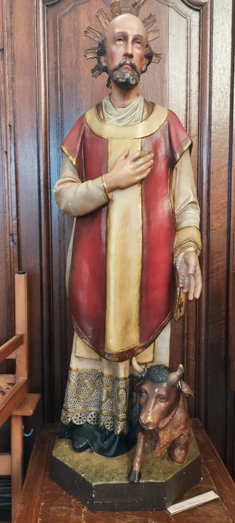 Neufmaison - statue de saint Charalampe