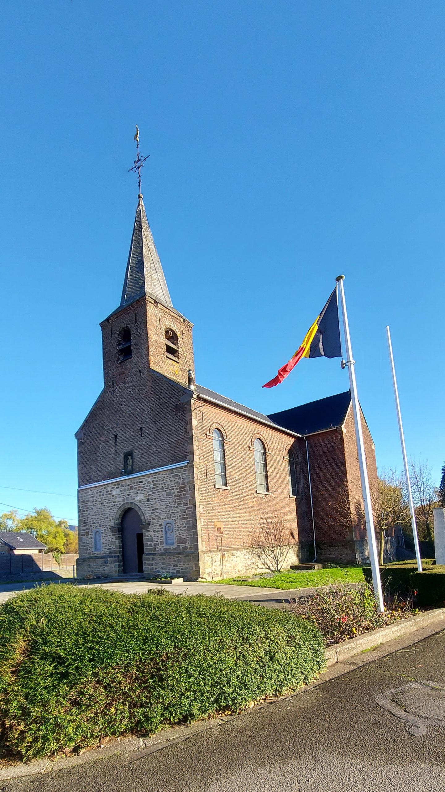 Extérieur de l'église de Villerot